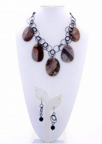Terra Scape - Necklace / Earnings Adriana Walker $178