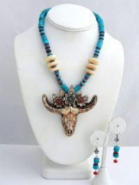 Dressy Skull - Necklace Adriana Walker $248