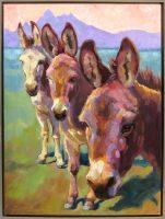 """Guarding the Tetons Sarah Webber 41.75"""" x 31.75"""" oil on canvas $4800"""