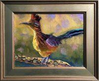 """A Cholla For A Chair Sarah Webber 11"""" x 13"""" oil on canvas $595"""