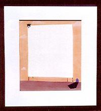 "On The Horizon Mackenzie Thorpe 35"" x 32.25"" pastel on paper $9500"