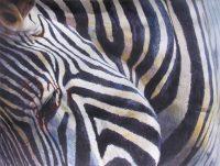 "Truth Patricia Hunter  37.5"" x 44.5"" watercolor on paper $2850"
