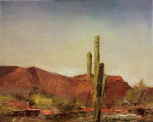 1020r  by Albert Scharf , oil on canvas