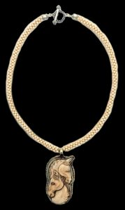Equine Duo by Adriana Walker , Necklace