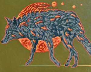 Coyote Fire</em> by Nocona Burgess