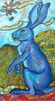 "Rabbitbrush Reverie Melissa Cole 20"" x 10"" mixed media $455"