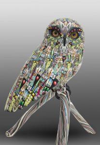 Green Owl</em>Adam Thomas Rees by