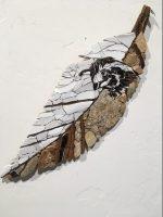"""Quail Janice Wallake  16"""" x 5-1/2"""" mosaic $159"""