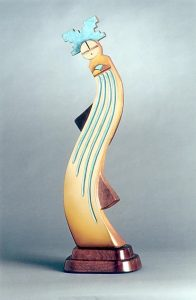 "Pueblo Rain Dancer by Greyshoes21"" x 11"" x 6""bronze$3250"