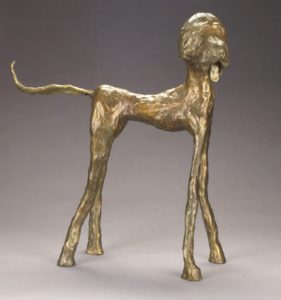 "Bailey by Jim Budish18"" tallcast bronzeValue:  $2175Minimum Bid:  $1087.50$50 incrementsCurrent Bid:  $1,187.50"