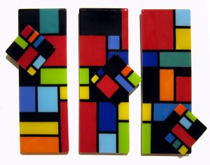 A Spin on Mondrian by