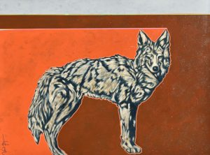 Red Earth Coyote by