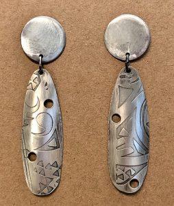 Earrings - Long Drop by