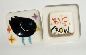Crow w/ Crosses Ringbox by