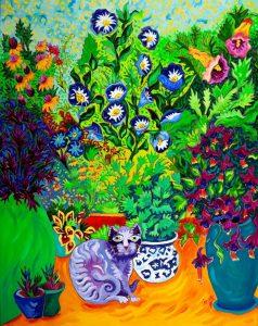 Cat's Garden by