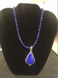 Lapis Necklace Lucy Gaynor $120