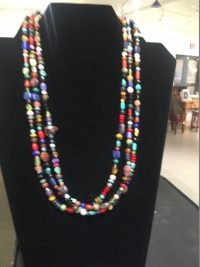 Treasure Necklace - 3 strands small beads Lucy Gaynor  $240