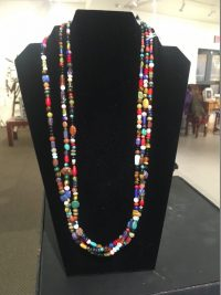 Treasure Necklace - 3 strands small beads Lucy Gaynor  $260