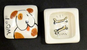 Woof Ring Box  #2030 by