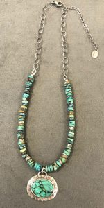 Necklace - Turquoise by