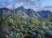 "Green Morning Stephen Morath  44"" x 60"" acrylic on canvas $6900"