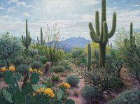 "April Morning Stephen Morath 36"" x 48"" acrylic on canvas $4700"
