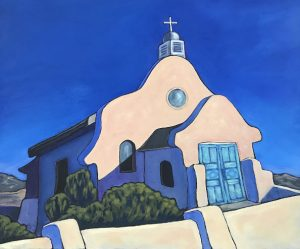 Adobe Church Series: San Isidro by
