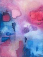 "Before the Storm Max Jones 48"" x 36"" mixed media on canvas $3400"