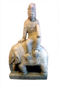 Quan Yin Riding Animals by