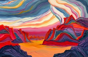 Sunset Winds by