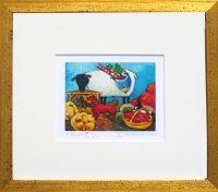 "3 Kings  Linda Carter Holman prints 11.25"" x 12.25"" giclee on paper framed $195"