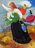 "Little Winds Linda Carter Holman prints 21"" x 15.25"" giclee on paper unframed $65"