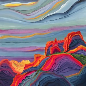 Canyon Mountain Top by